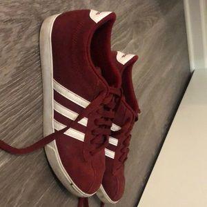 Red velvet adidas